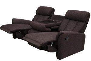 ニトリ「3人用手動リクライニングソファー」