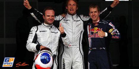 F1スペインGP 公式予選バトンが最終Q3でポール!