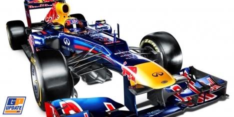 レッドブル 2012年F1マシン RB8