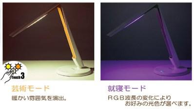 LEDデスクライト「L-Fit ライト KTL-0001」