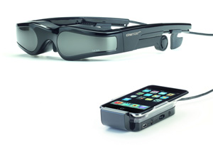 Carl Zeiss cinemizer plus 3D対応メガネ型ディスプレイ