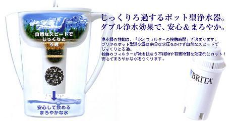 ブリタ ポット型浄水器