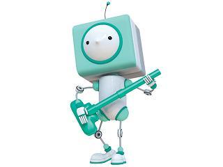 「お掃除ロボット」機能のイメージキャラクター「お掃除ロボット」