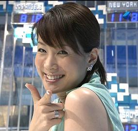 内田恭子アナが結婚